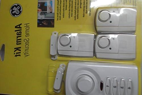 Ge Alarm Kit Home Security Window and Door Alarm