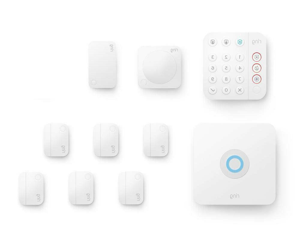 Ring Alarm Wireless 10 piece Security system No long term co