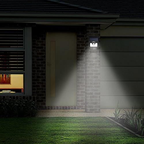 Litom 8LED Solar Solar Motion Path Lighting-4Pack