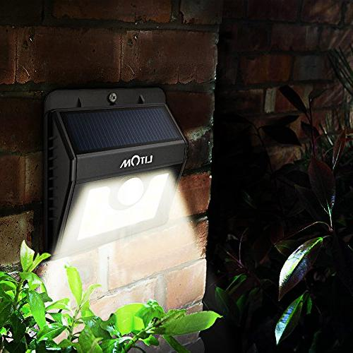 Litom Bright 8LED Power Solar for Path