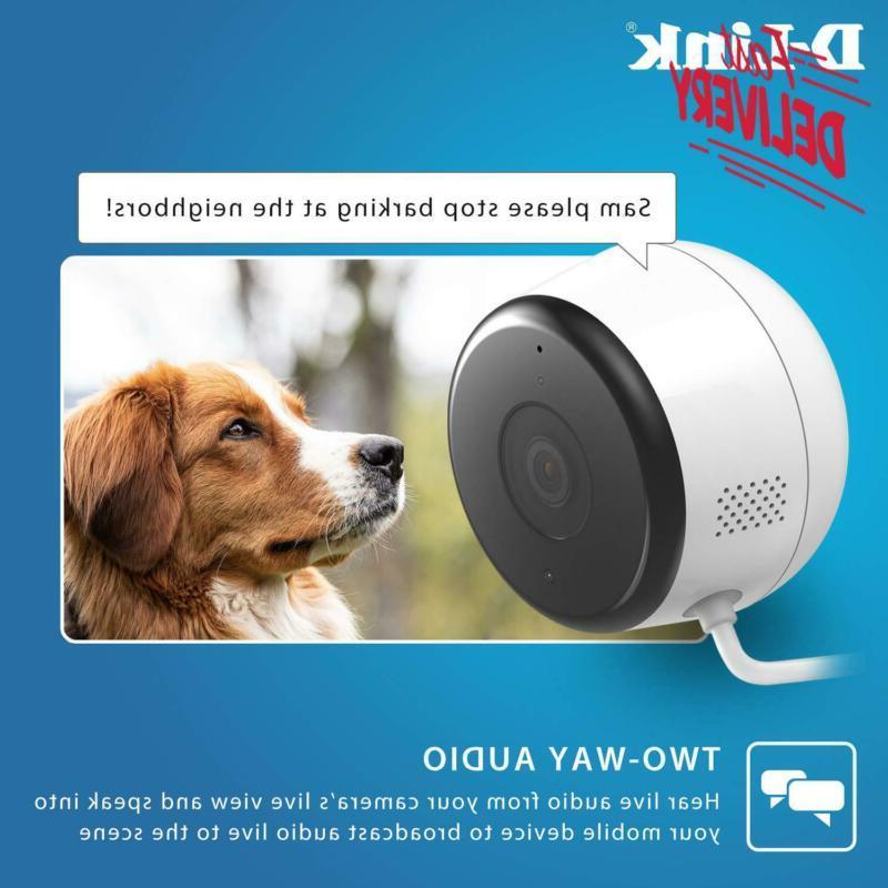 D-Link Full Wi-Fi Camera Security Hd | Alerts