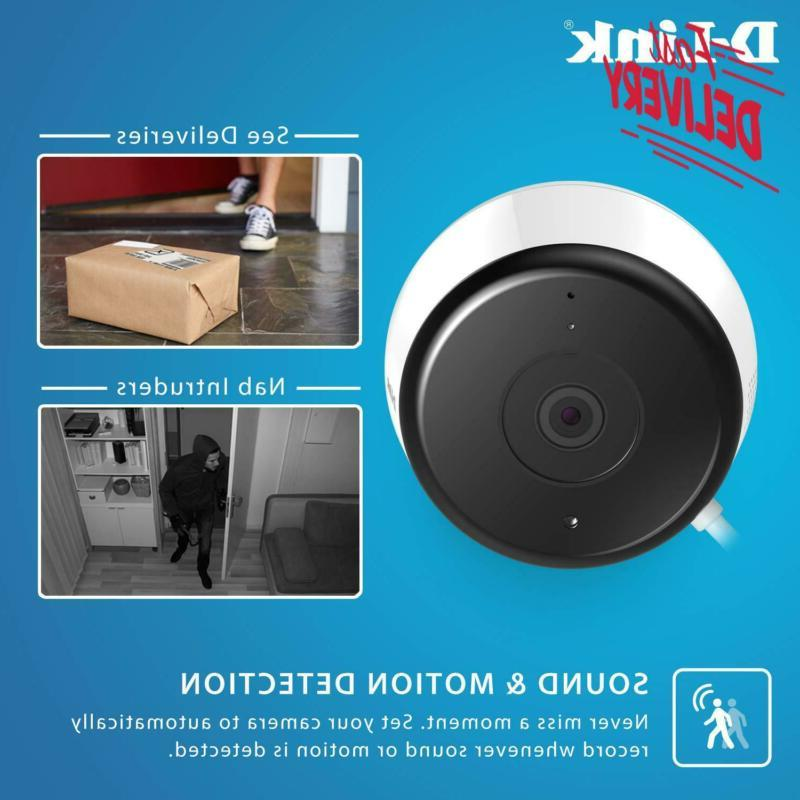 D-Link Wi-Fi Camera Security In Full | Sends Alerts