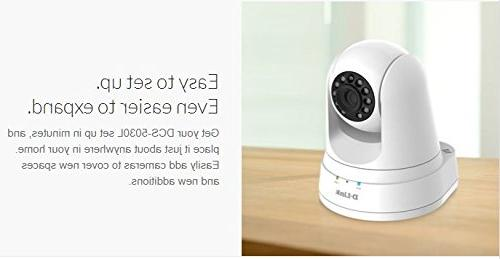 D-Link DCS-5030L Wireless Security Motion Detection/HD Resolution/Night Access/Wi-Fi
