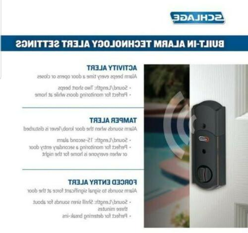 Schlage With Wifi Bronze Security