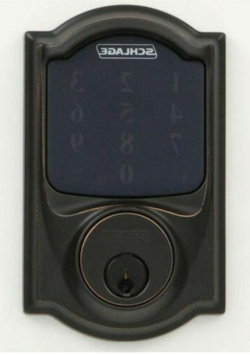 Schlage With Wifi Alarm Touchscreen Bronze Home