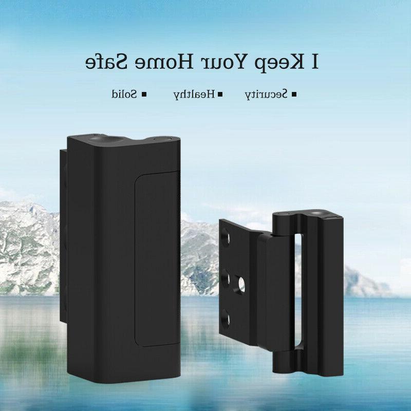 Upgraded Defender Reinforcement Lock Door Black