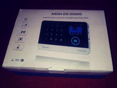 Digoo DG-HOSA Wireless Home Alarm Kits