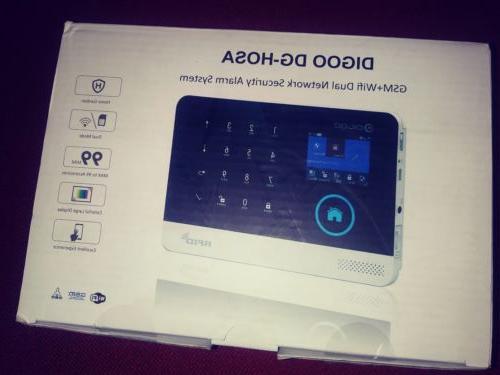 Digoo DG-HOSA WIFI&GSM&SMS Wireless Smart Home Security Alarm