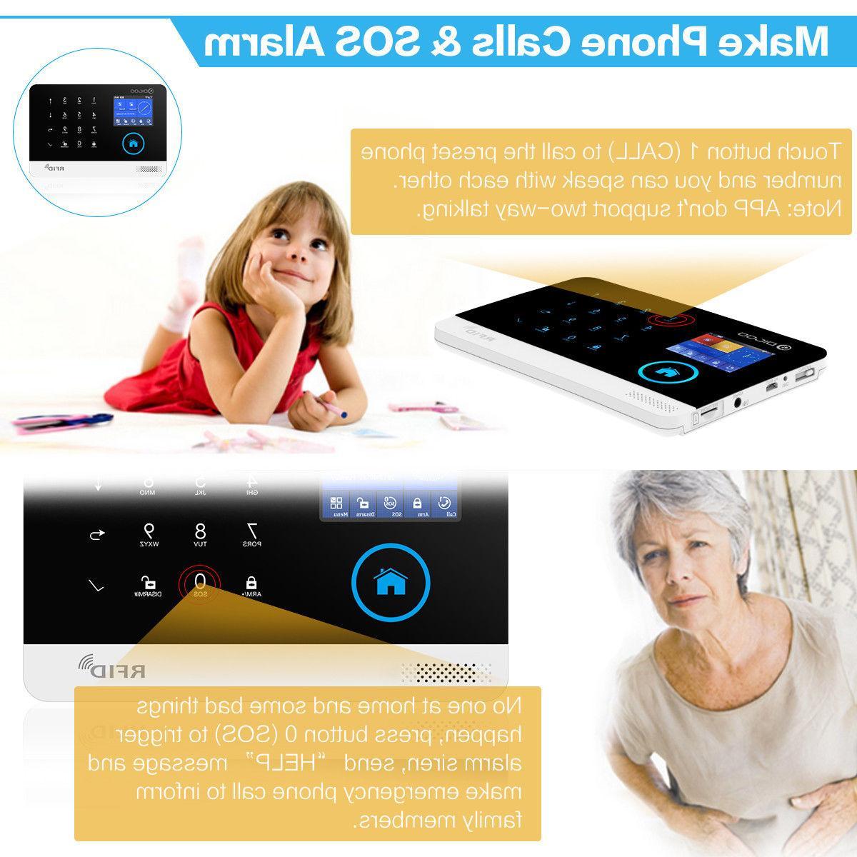 Digoo WiFi DIY Wireless Smart Home Security Alarm Accessories