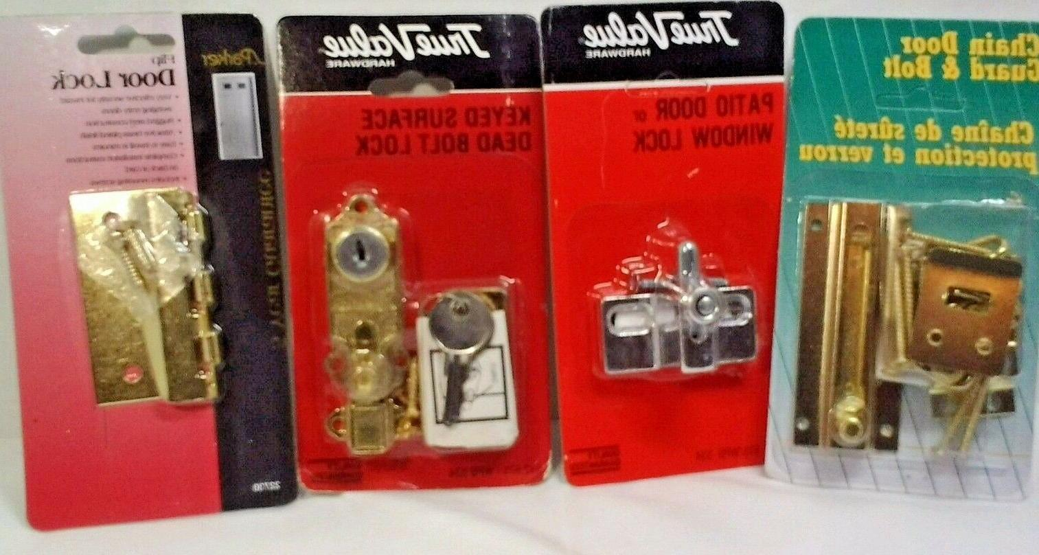 Door locks Metal choice Keyed or non Mounted Home