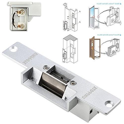Secure Lock Part Access Wood Door