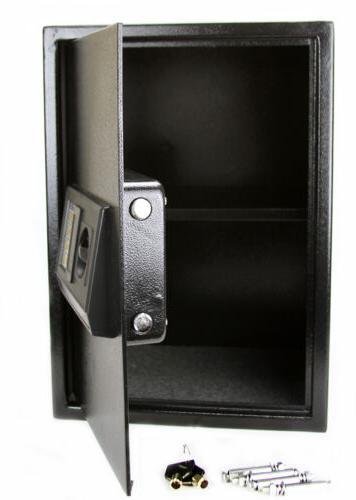 Extra Large Digital Lock Safe Home Security Black