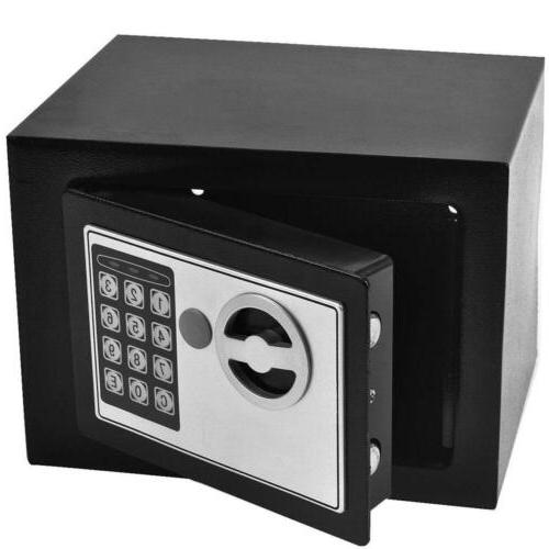 Electronic Safety Box Security Home Digital Jewelry Safe Money