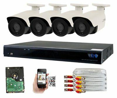 gw 8 channel 4mp home security camera