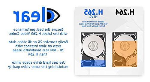 GW 8 Channel UltraHD Audio Video Motorized Zoom NVR 8 Megapixel 2.8-8mm Zoom Cameras Built-in Microphone