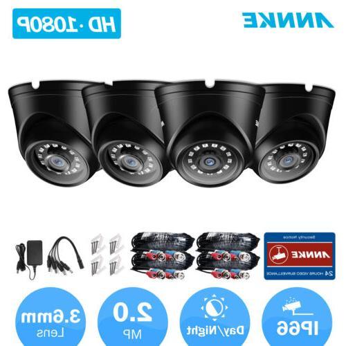 ANNKE HD 1080P Home Camera Kit Outdoor IR Security Surveilla