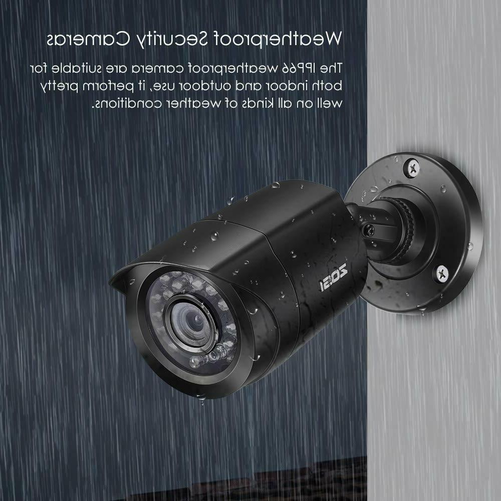 ZOSI 8CH 5MP Lite DVR Security System Indoor