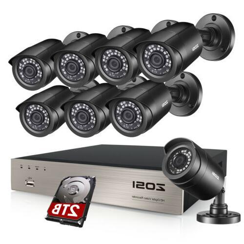 hd 8ch 1080p dvr 720p outdoor home