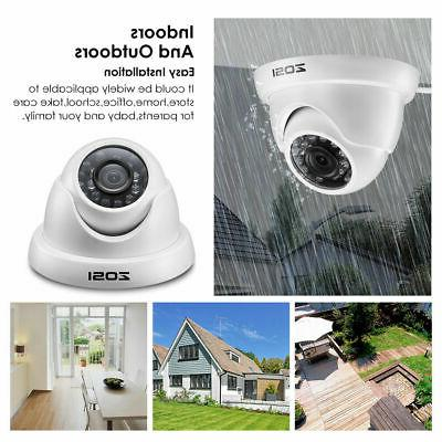 ZOSI Outdoor SYSTEM Surveillance Camera HD 4in1