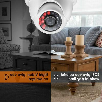 ZOSI Outdoor SYSTEM 1080p HD Vision