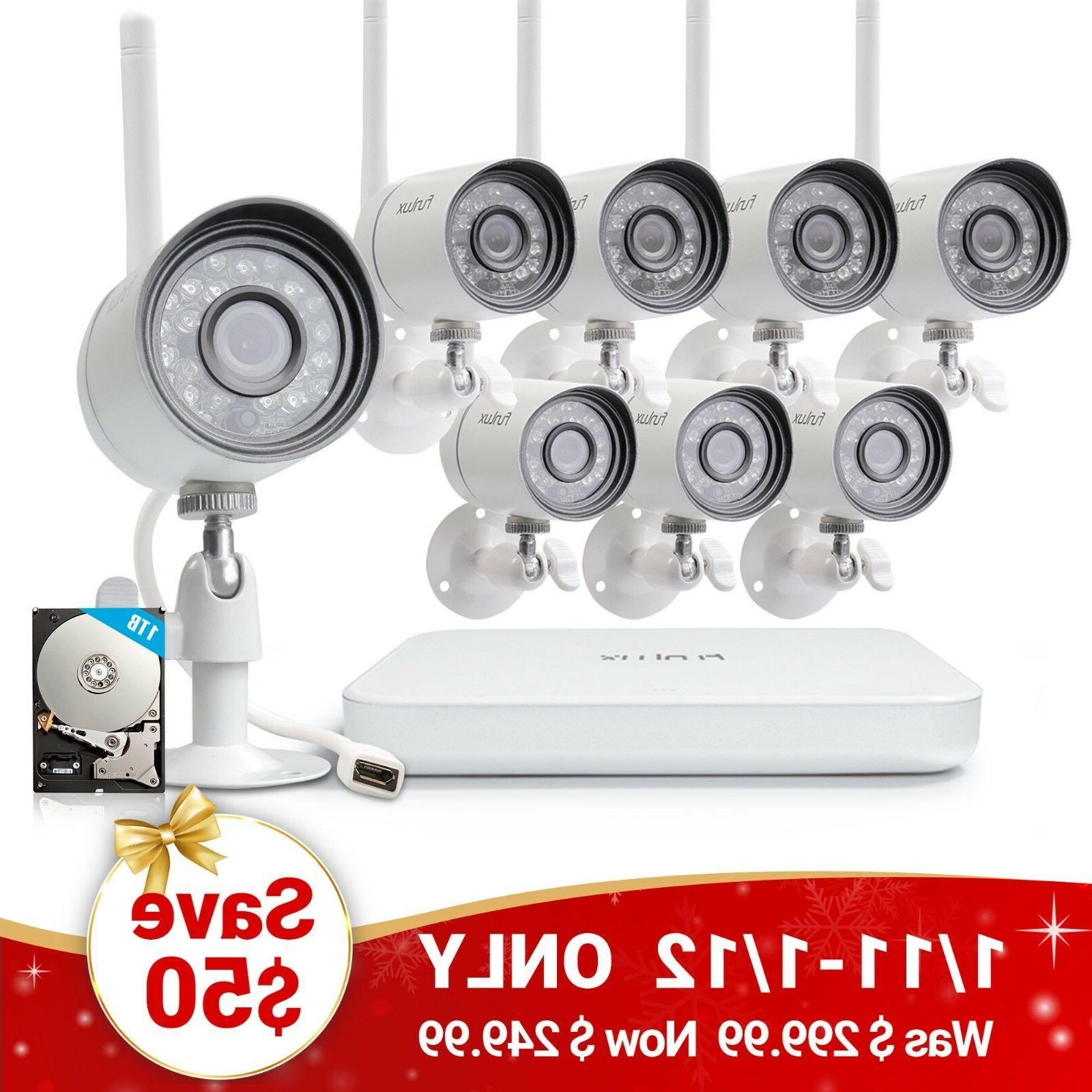Funlux 1.0 Wireless Home Camera 1TB