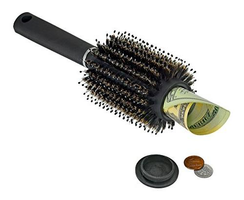 Hidden Container Hair Brush Secret Diversion Safe Can Stash