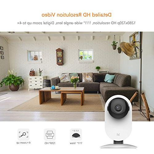 YI Home Camera, Camera with Activity Detection Alert iOS, Android -