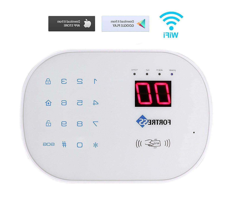 Home Security Alarm System Kit Wireless DIY