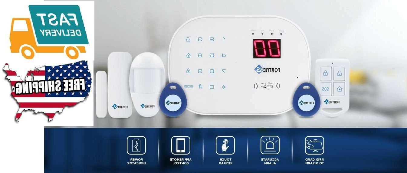 home business wifi landline security alarm system