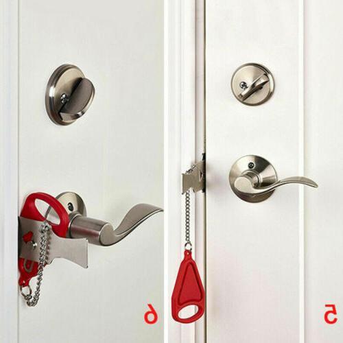 Home Lock Portable Privacy Hotel
