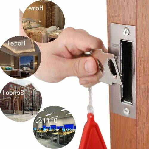 Home Door Hardware Portable Tool Security Privacy Travel