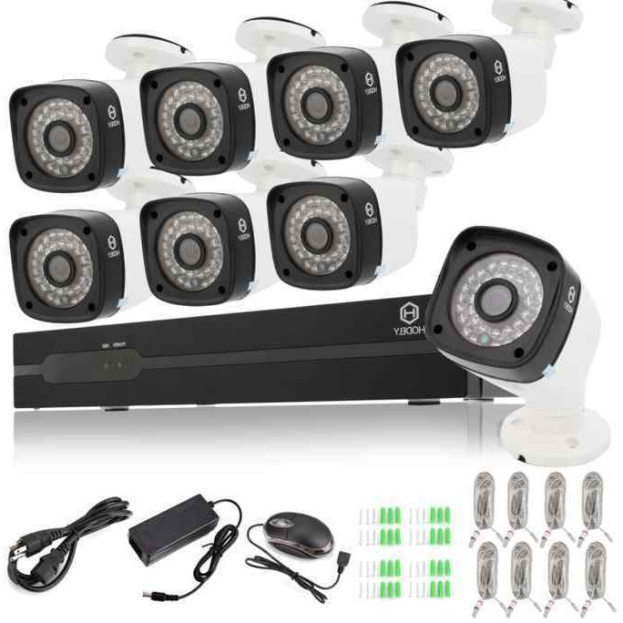 home security 8ch 1080p poe set night