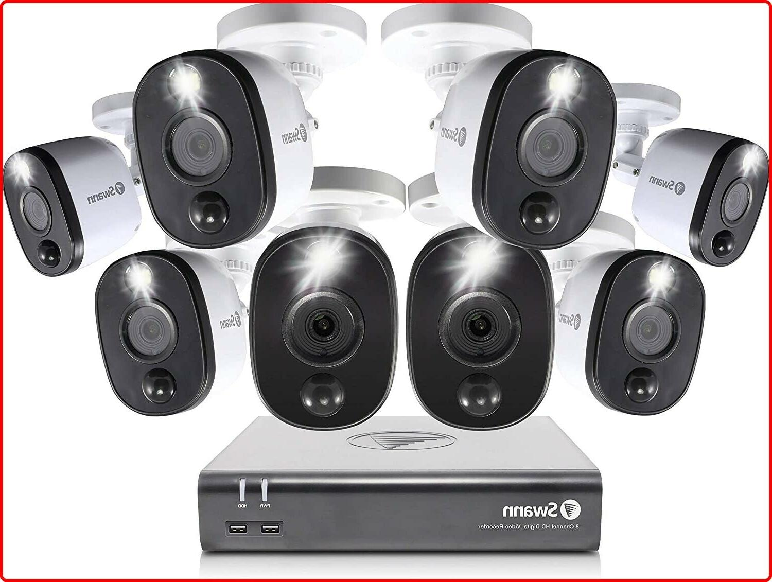 home security camera system 8 channel 8