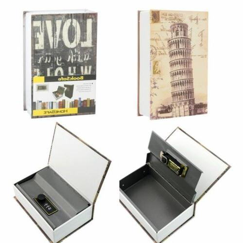 home security dictionary book safe cash jewelry