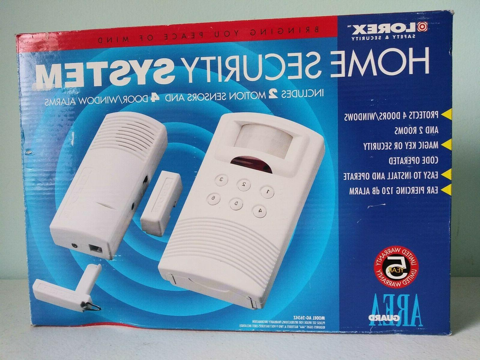 home security system new