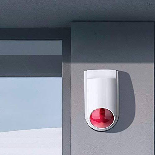 Home Alarm System Kit for Home Alarm Host, Siren, Door with iOS&Android