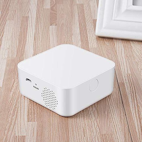 Home Security Home Business with Alarm Host, Outdoor 125DB Siren, Doorbell, Motion Door Controller with