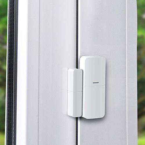 Home System WiFi Alarm System Home Business Alarm Siren, Sensor, Door Sensor, Controller with App