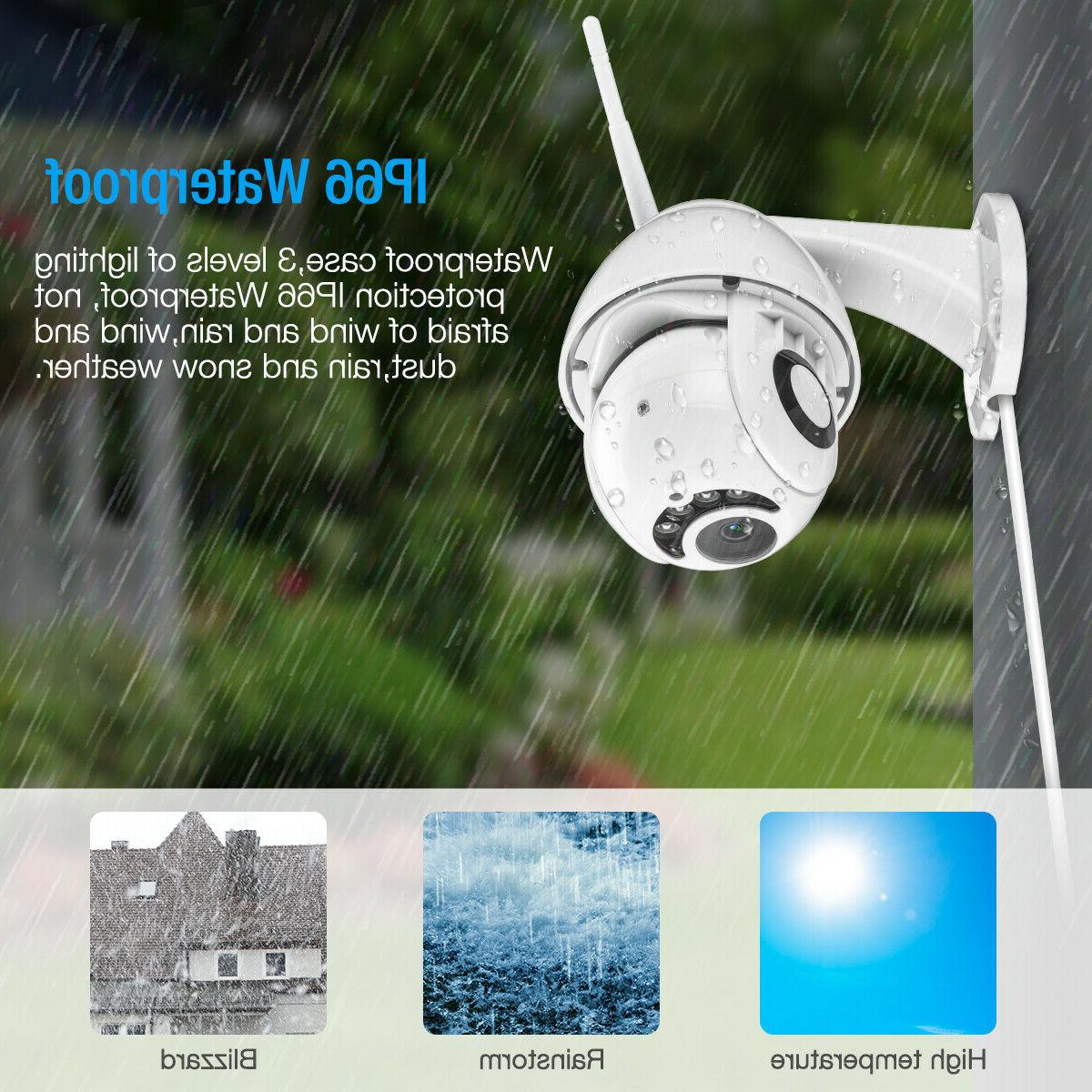 Wireless HD 5X ZOOM IP Camera Security IR Webcam