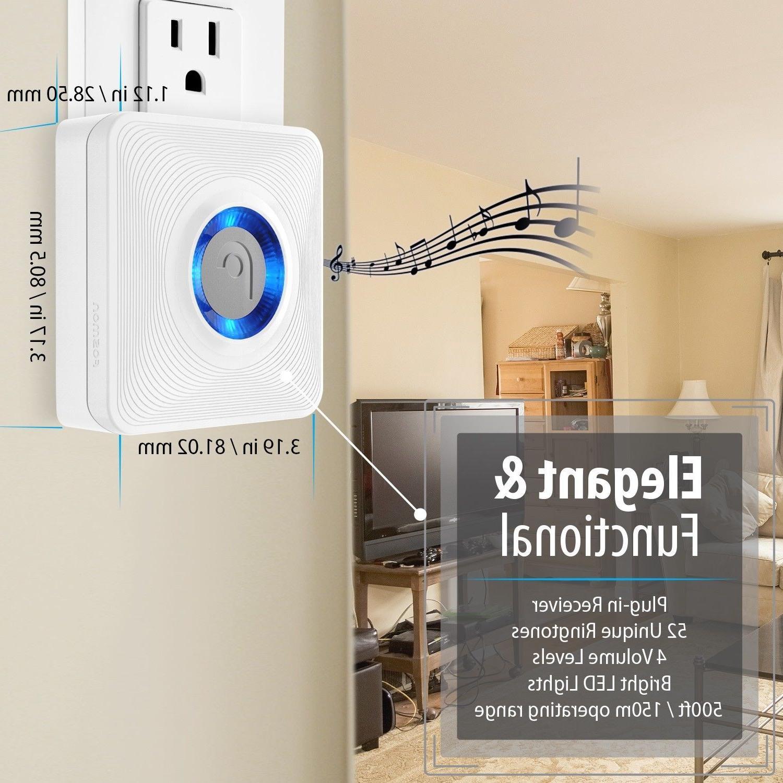 Home Security Wireless Driveway Alarm Doorbell