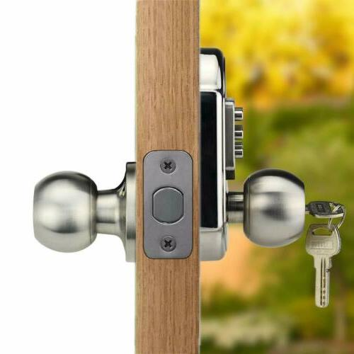 New Keyless Keys Code Keypad Lock Knob Home Privacy
