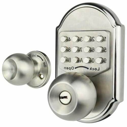 New Deadbolt Code Lock Home Security Privacy