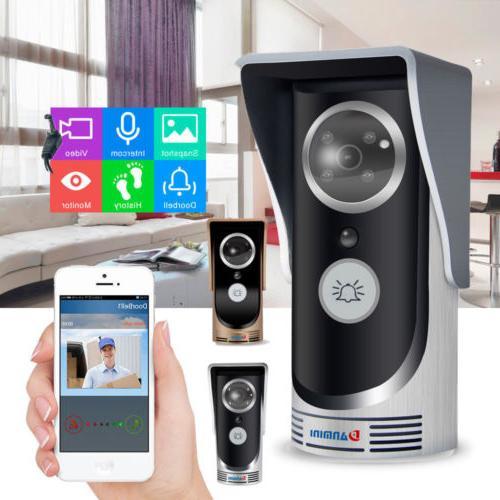 LOT Wireless WiFi Remote Video HD Camera Smart Door Phone Do