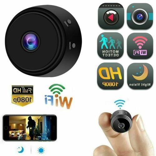 Mini HD Camera1080p Indoor WiFi Smart Home Security Cam Pet