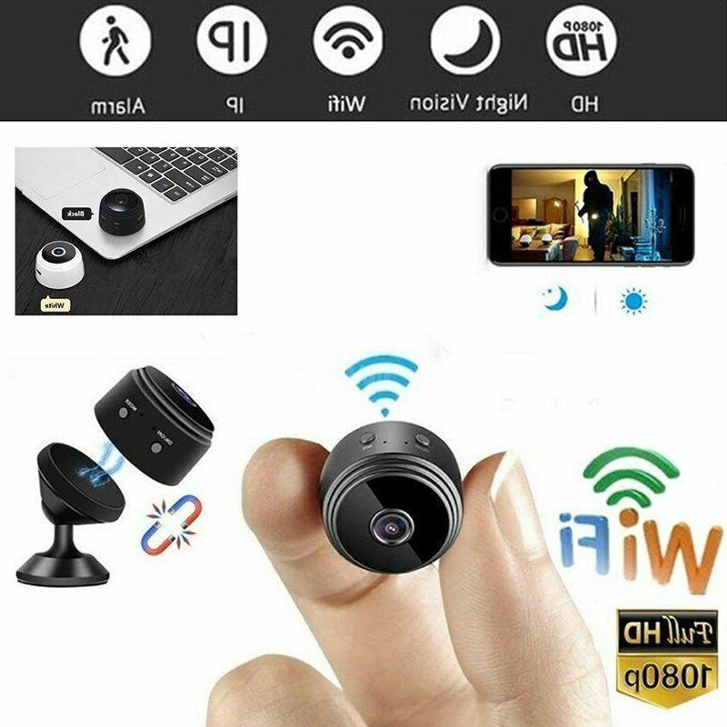 Mini Cam Wireless Wifi Home HD DVR Vision Hidden