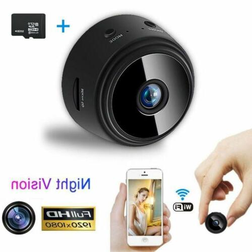 Mini Spy IP Camera Wireless WiFi HD 1080P Hidden Home Securi