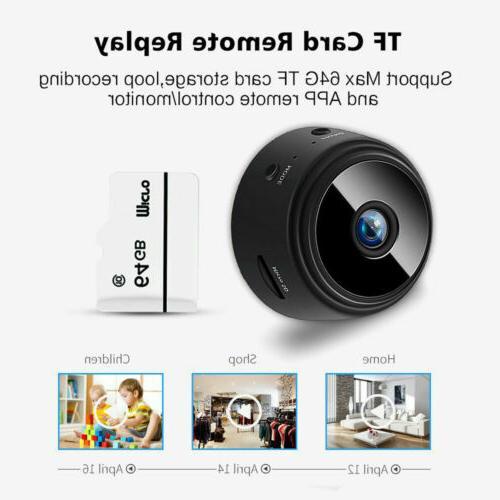 Mini Spy Wireless Wifi Security HD 1080P DVR Vision Remote