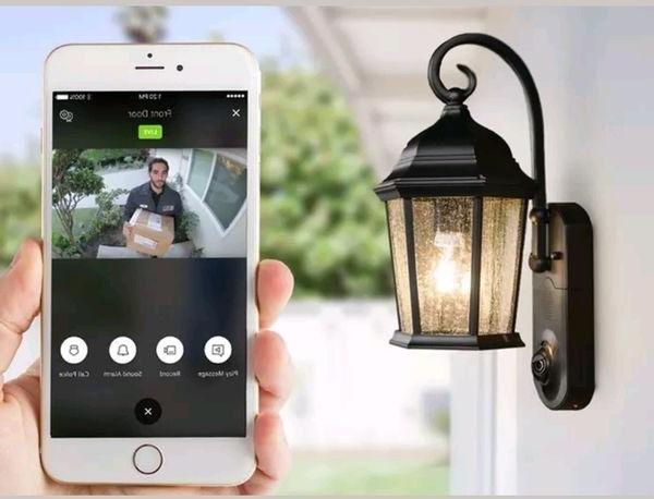 motion sensor home security outdoor led light