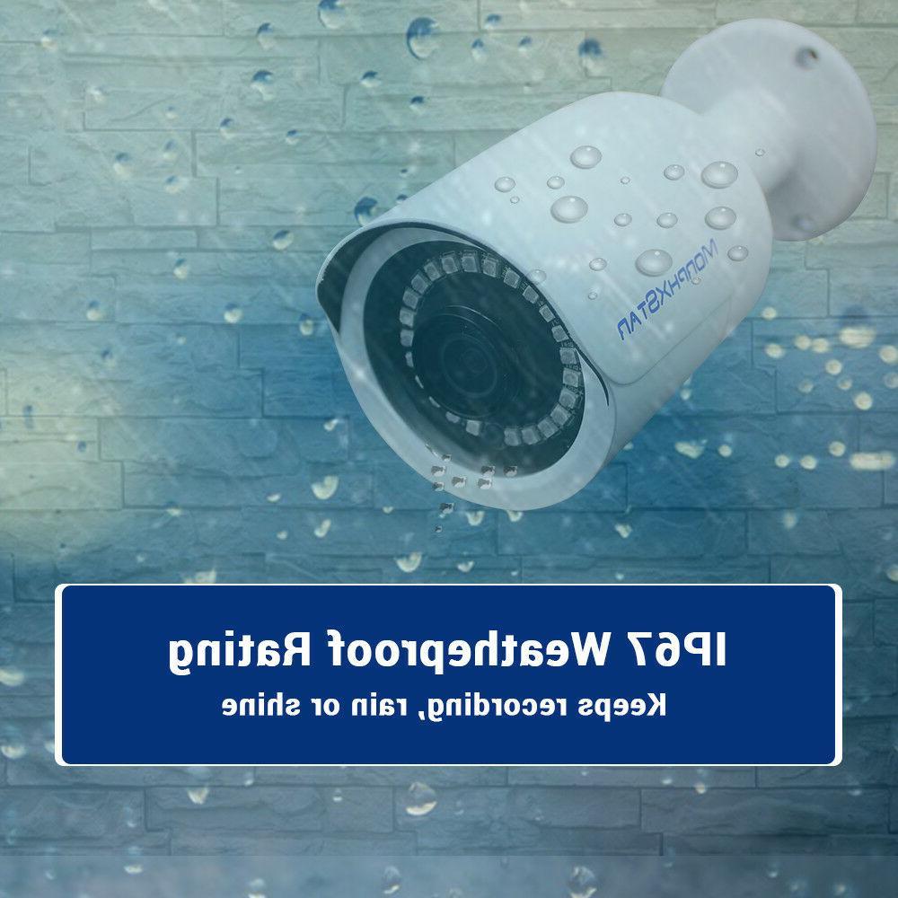 MXS 8CH NVR 8MP System Security Surveillance