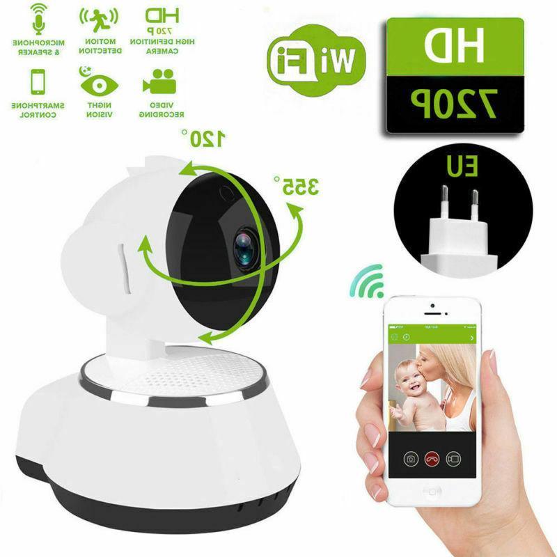 Wireless 720P WIFI Pan Home CCTV IR Night